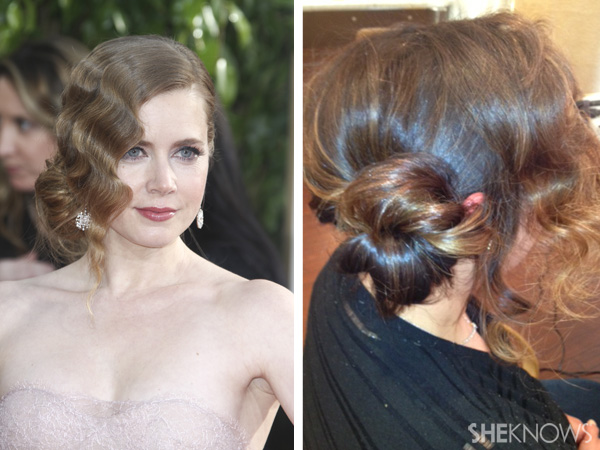 Get Amy Adams Golden Globe 2013 Hair