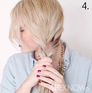 5How to create an alternabraid -- Step 4