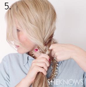 How to create an alternabraid -- Step 5