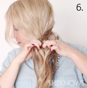 How to create an alternabraid -- Step 6