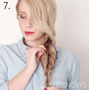 How to create an alternabraid -- Step 7