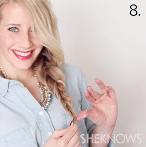 How to create an alternabraid -- Step 8