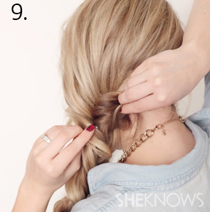 How to create an alternabraid -- Step 9