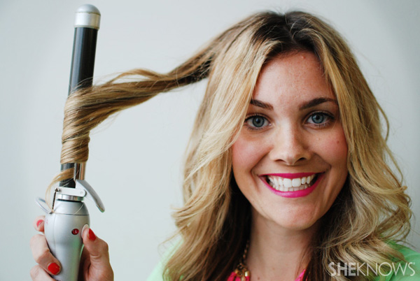 How to use a beachwaver -- Step 10