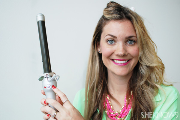 How to use a beachwaver -- Step 7