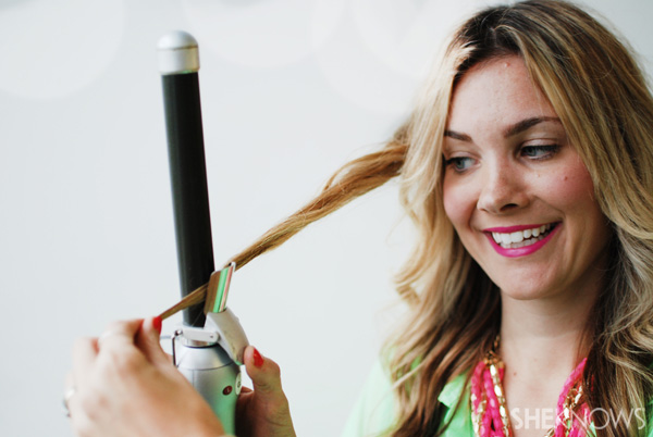How to use a beachwaver -- Step 8