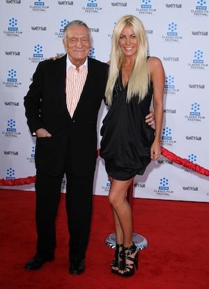 86-Year-Old Hefner Weds Harris on NYE