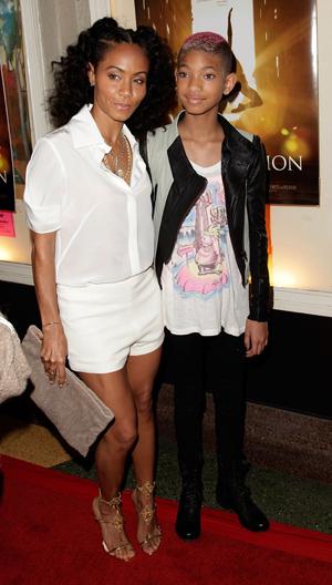 Jada Pinkett Smith and Willow Smith