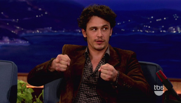 James Franco on Conan