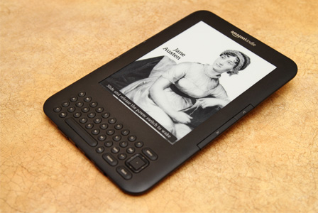 Jane Austen on Kindle