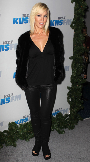 Jennie Garth at the Jingle Ball