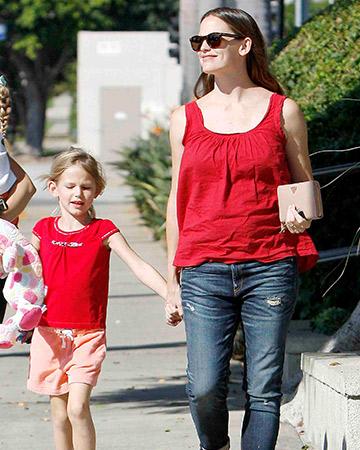 Jennifer Garner's humble celeb life