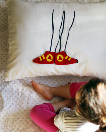 DIY Slumber Party Pillow