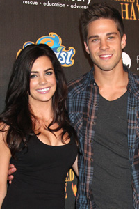 Dean Geyer with girlfriend Jillian Murray