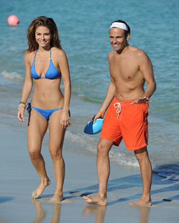 Maria Menounos with boyfriend Kevin