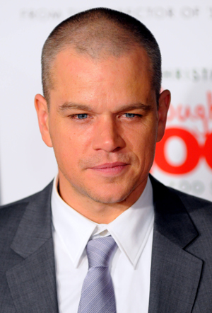 Matt Damon closeup