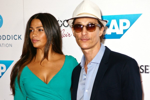 Matthew McConaughey Camila Alves