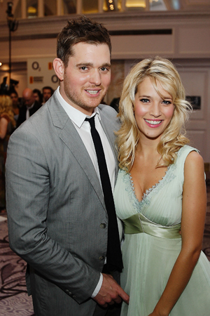 Happy news for singer Michael Bublé and his wife Luisana Lopilato