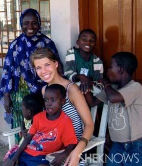 Kary Doerfler in Ghana