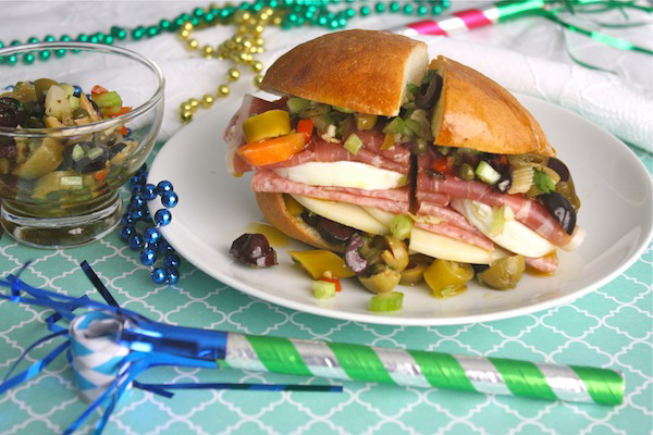 Muffuletta Sandwiches