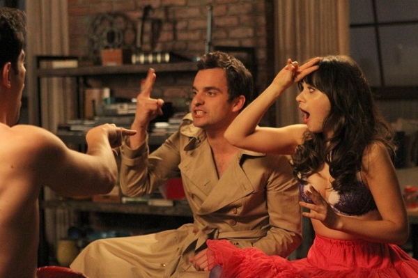 New Girl's Nick and Jess finally kiss