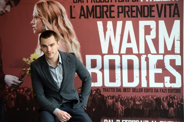 Warm Bodies' Nicholas Hoult will be on Jimmy Kimmel