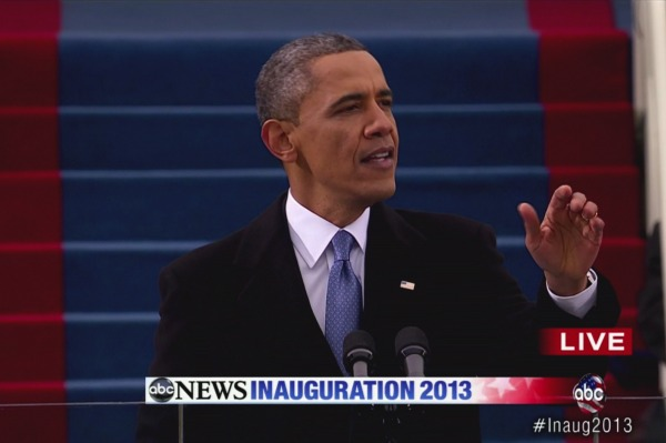 President Obama's inauguration speech