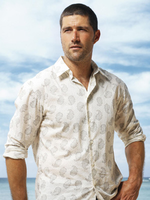 Matthew Fox, Dr. Jack Shephard on Lost