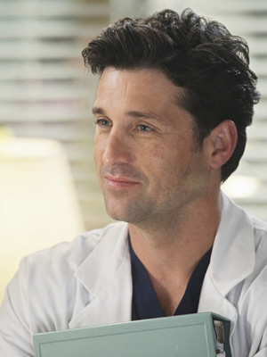 Patrick Dempsey, Dr. Derek Shepherd on Grey's Anatomy