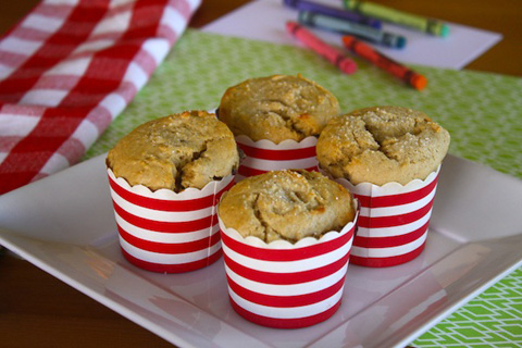 PB and J Muffins
