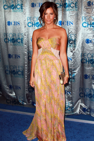 Ashley Tisdale at the People's Choice Awards