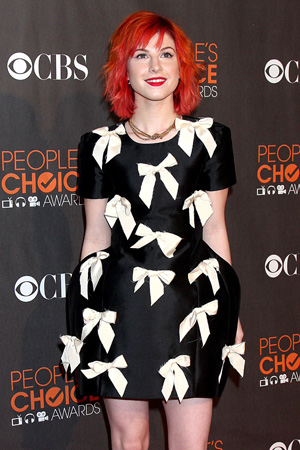 Hayley Williams at the People's Choice Awards