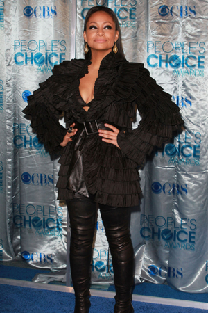 Raven-Symone at the People's Choice Awards