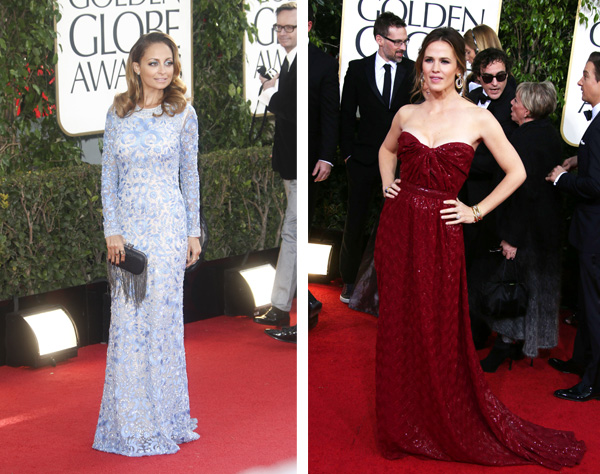 Pops of color at the 2013 Golden Globes
