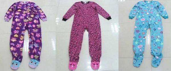 Recalled Target fleece pajamas