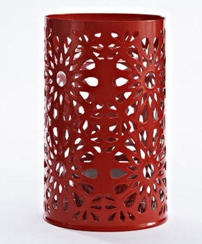 Spruce up a dull space with these red beauties