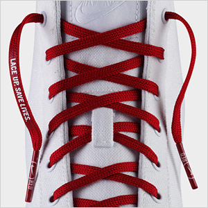 Nike RED Laces