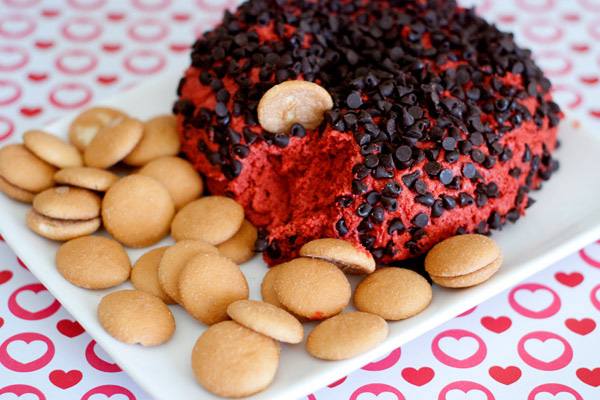 Red velvet cheesecake ball recipe