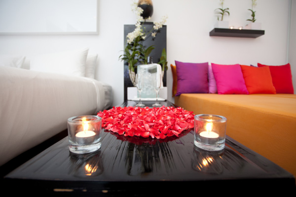 How to turn your home into a Valentine's Day love cove