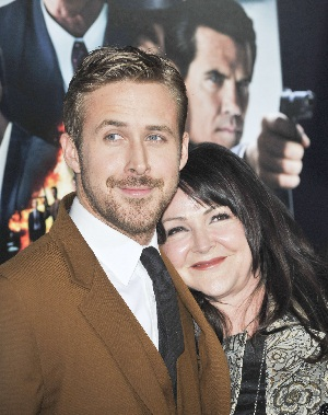 Ryan Gosling and mother, Donna
