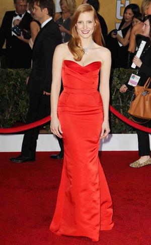 Jessica Chastain 2013 SAG