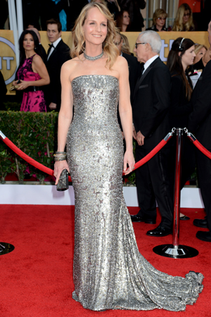 Helen Hunt at the 2013 SAG Awards