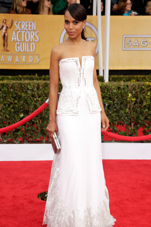 Kerry Washington at the 2013 SAG Awards
