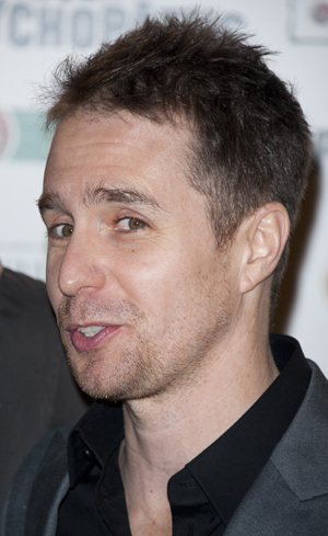 Sam Rockwell closeup