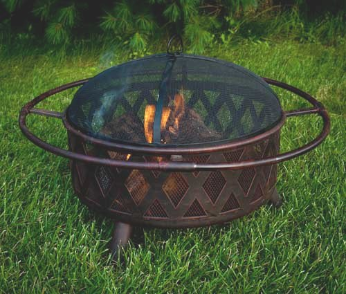 Cross Weave Fire Pit 