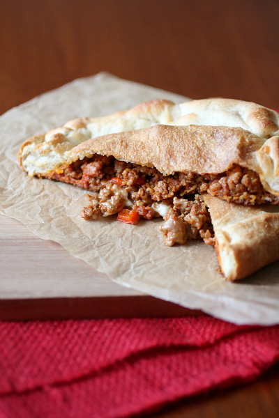 Smoked paprkia pork calzone recipe