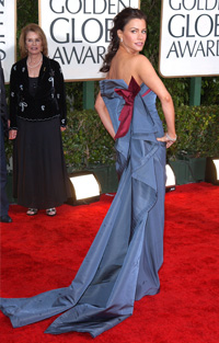 Sofia Vergara at 2010 Golden Globes