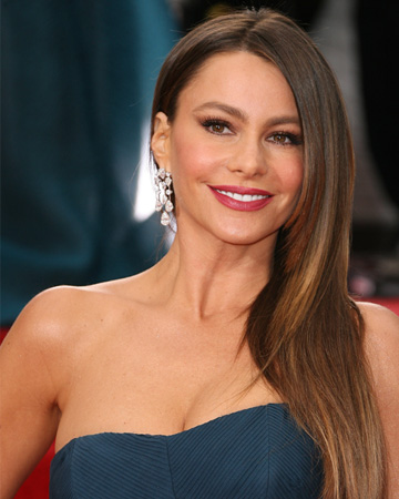 Sofia Vergara at 2012 Golden Globes