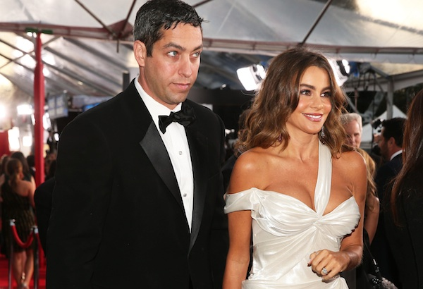 Sofia Vergara at the 2013 SAG Awards.