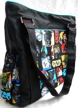 Star Wars Diaper Tote